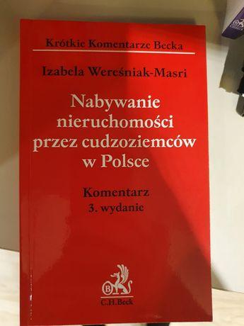 Książka Nabywanie nieruchomości przez cudzoziemców wyd.3