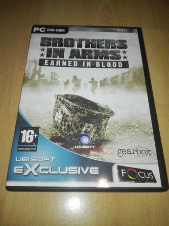 Brothers in Arms Earned in blood PC DVD