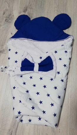 Одеяло-конвертик для новорождённых