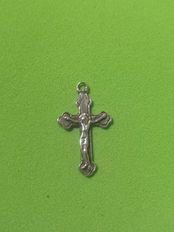 Крест серебряный из Иерусалима.