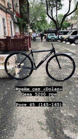 Велосипед фикс, shimano, campagnolo, specialized(запчасти)