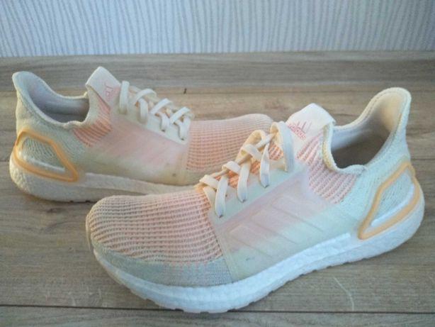 Adidas Ultraboost 19 buty do biegania 40 Off-White and Orange