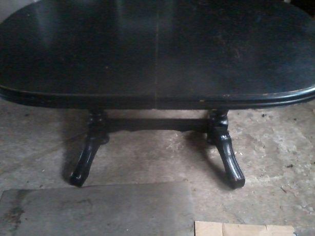 Stół rozkładany + 6 krzeseł,  cena za kpl.