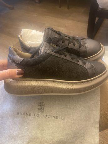 Зимние кроссовки Brunello Cucinelli (оригинал)