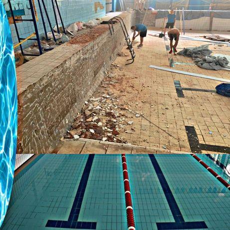 Капитальный ремонт бассейнов. Реконструкция бассейнов
