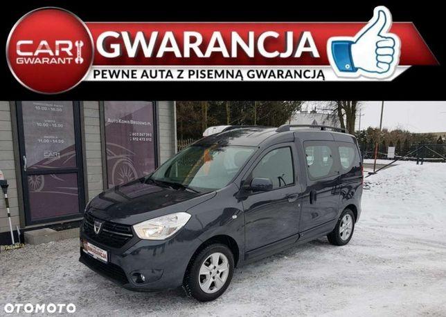 Dacia Dokker 1.6 Benzyna 102km, Parktronik, Klimatyzacja, Serwis