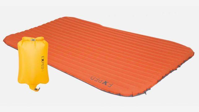 Двухместный суперлёгкий надувной коврик Exped SynMat HL Duo LW