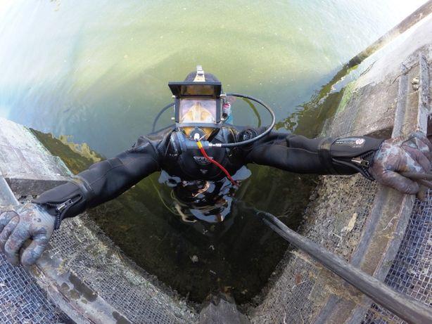 Водолазные работы, услуги водолазов