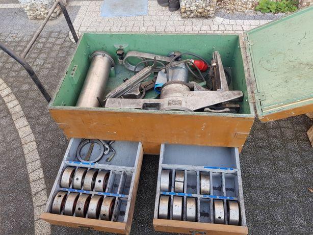 maszyna tokarka do toczenia bębnów szczęk hamulcowych plus wozek