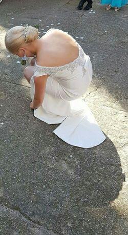 Suknia ślubna Botega śmietanka