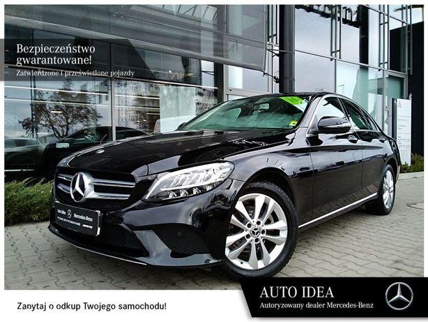 Mercedes-Benz Klasa C Salon Polska, gwarancja fabryczna,VAT23%,LED,kamera cofania,park pilot
