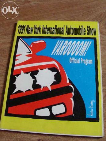 1991 katalog salon samochodowy New York