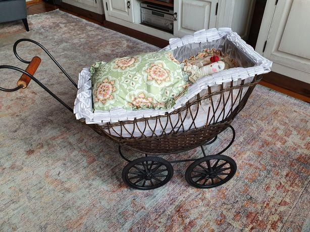 Wózek dla lalek, do sesji vintage