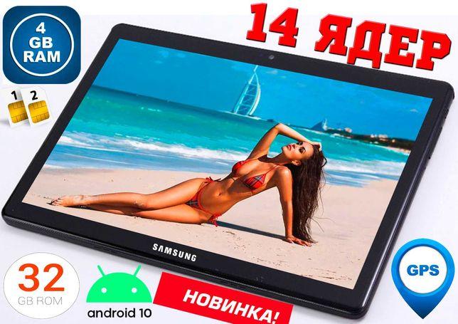 4G планшет телефон Samsung Galaxy TAB PRO, 4/32 GB 14 ЯДЕР GPS,2Sim