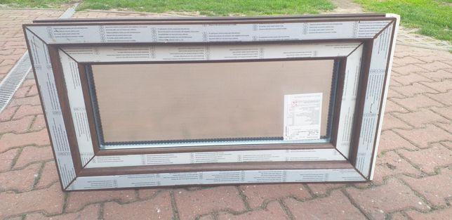 Nowe Okno z szybą decor