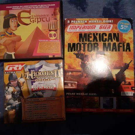 Trzy gry tajemnice egiptu / mexican motor mafia / Heroes 2