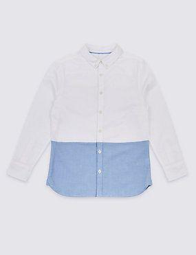 Рубашка Marks&Spencer, р. 10-11 лет
