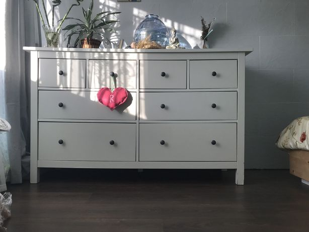 Cómoda Hemnes (branca) Ikea