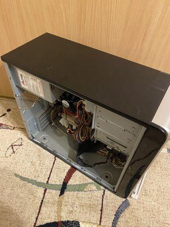 Komputer sprawny zestaw monitor LCD 19 cali LG duży zestaw DVD z HDD