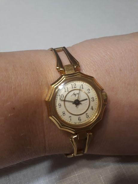 Zegarek Łucz CCCP pozłacany