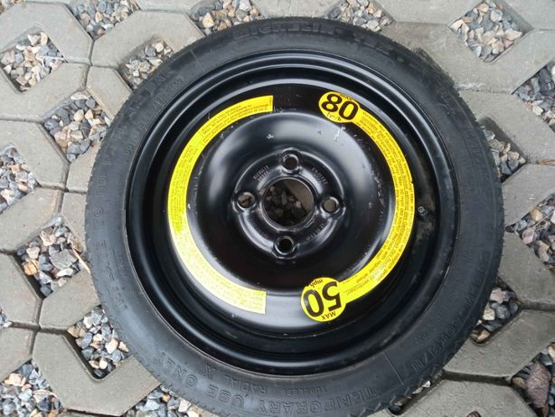 Koło Dojazdowe Michelin R14 4x98 + Pokrowiec