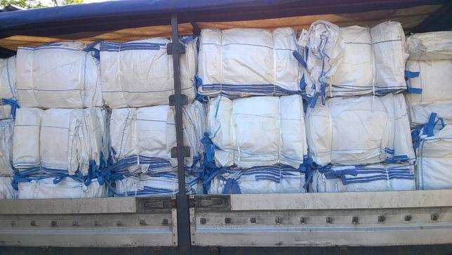 Używane worki big bag 90x95x160 cm na drewno trociny PROMO