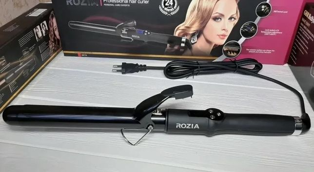 Плойка для завивки волос Rozia HR-772 (28мм) плойка для локонов