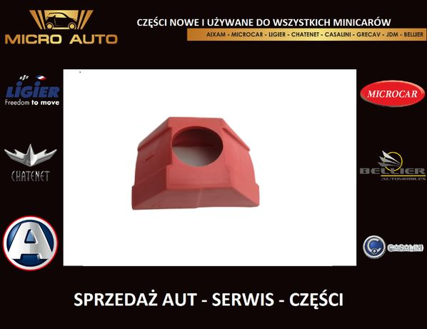 Ślizg wariatora Aixam Microcar Ligier Grecav Bellier JDM Casalini