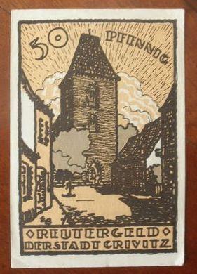 Notgeld niemcy 1922
