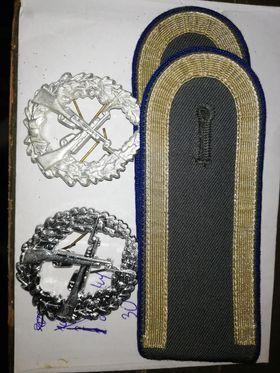 Odznaki do sznura + pagony bundeswehr