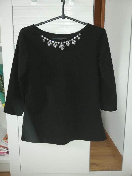 Czarna bluzka S M Śliwiczki - image 1