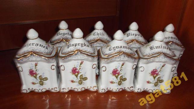 Pojemniki kuchenne porcelana róża 013, nowe. Chodzież
