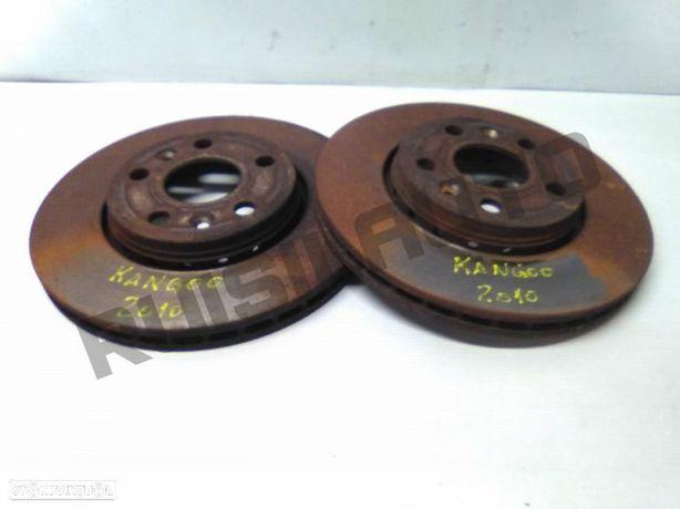 Conjunto De Discos Travão Frente Renault Kangoo Express (fw0/1
