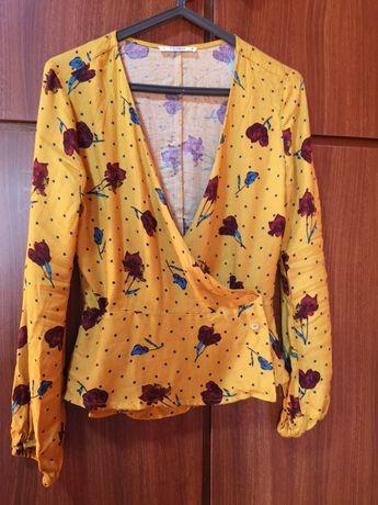 Lote tops e blusas de algodão tamanho S