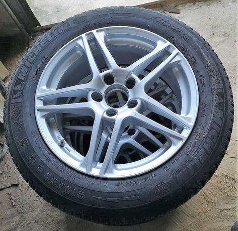 """Jantes 17"""""""" furação 5x112 mercedes com pneus 215/60r17"""