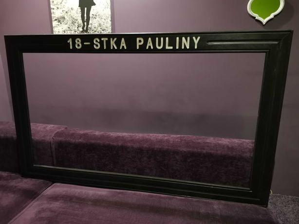 Ramka Paulina do zdjęć na 18-ste urodziny