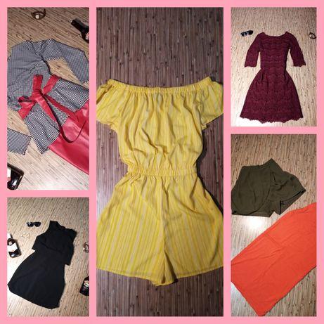 Платья, юбочки, шорты, комбинезон