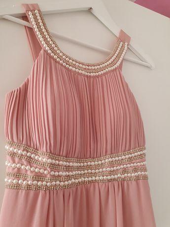 Sukienka z perełkami
