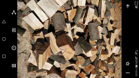 Drewno kominkowe opałowe ładne
