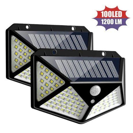 """Уличный фонарь светильник """"CL-100"""" с датчиком движения 100 LED"""