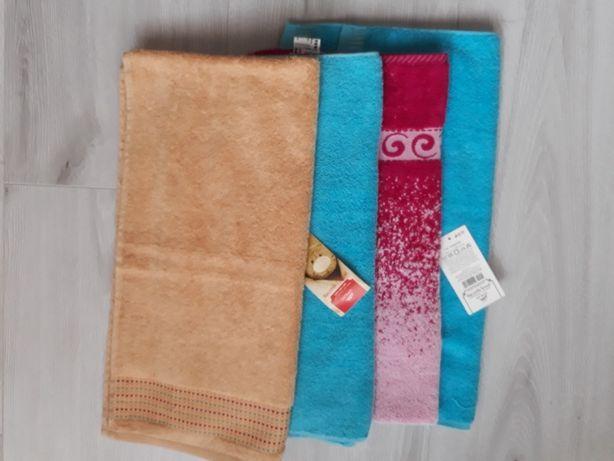Ręczniki frotte NOWE 4 szt