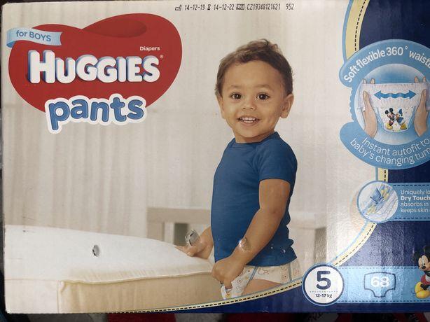 Huggies Pants 5 трусики хаггис для мальчков подгузники 5 разм 12-17 кг