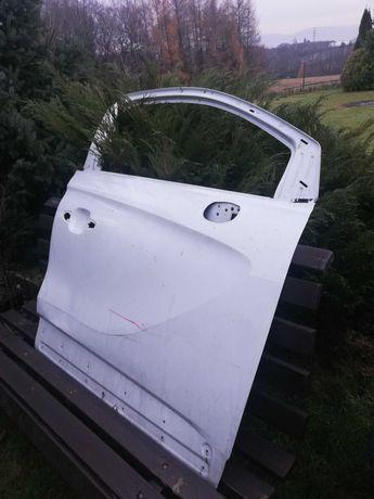 Drzwi Crossland X prawe przednie lekko uszkodzone