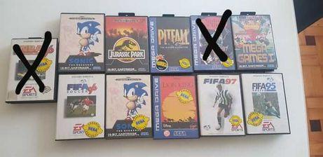 Vários Jogos Mega Drive