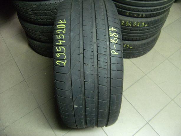 295/45/20 Pirelli P Zero pojedynka run flat
