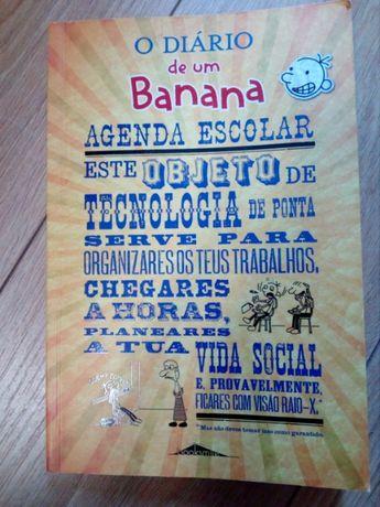 """Agenda Escolar """"O diário de um Banana"""""""