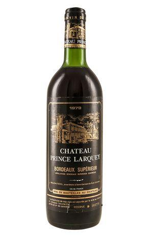 Chateau Prince Larquey 1979 Wino