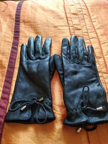 Rękawiczki skórzane Ochnik rozmiar 7