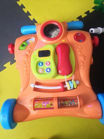 Mało używany Smiki, Baby Walker, chodzik, pchacz interaktywny, 2w1
