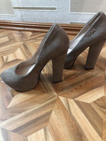 Туфли, нубук, 36 размер
